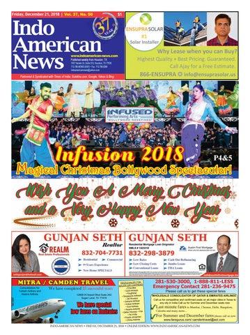 e-newspaper12212018 by Indo American News - issuu