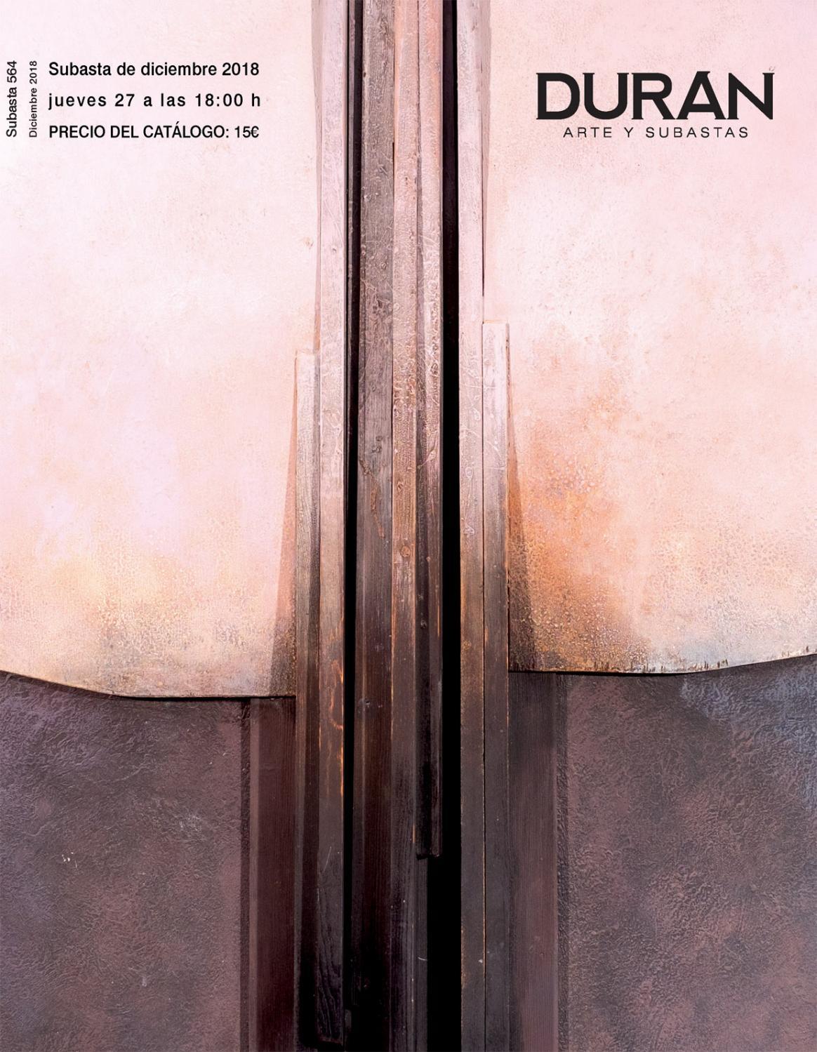e48b4fe3693e DURAN SUBASTAS DICIEMBRE 2018 ARTE by Consuelo Duran - issuu