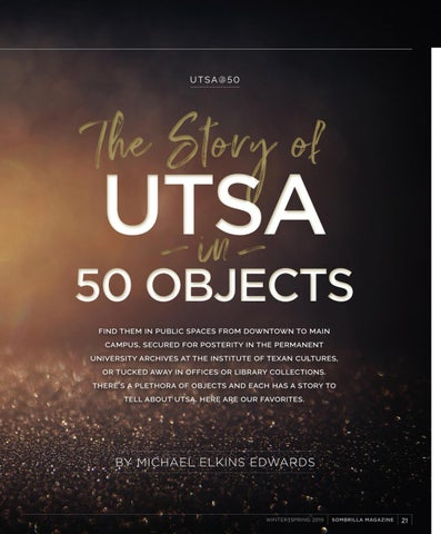 Page 23 of The Story of UTSA in 50 Objects