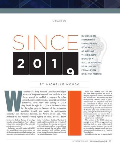 Page 35 of Since 2019: UTSA's Future