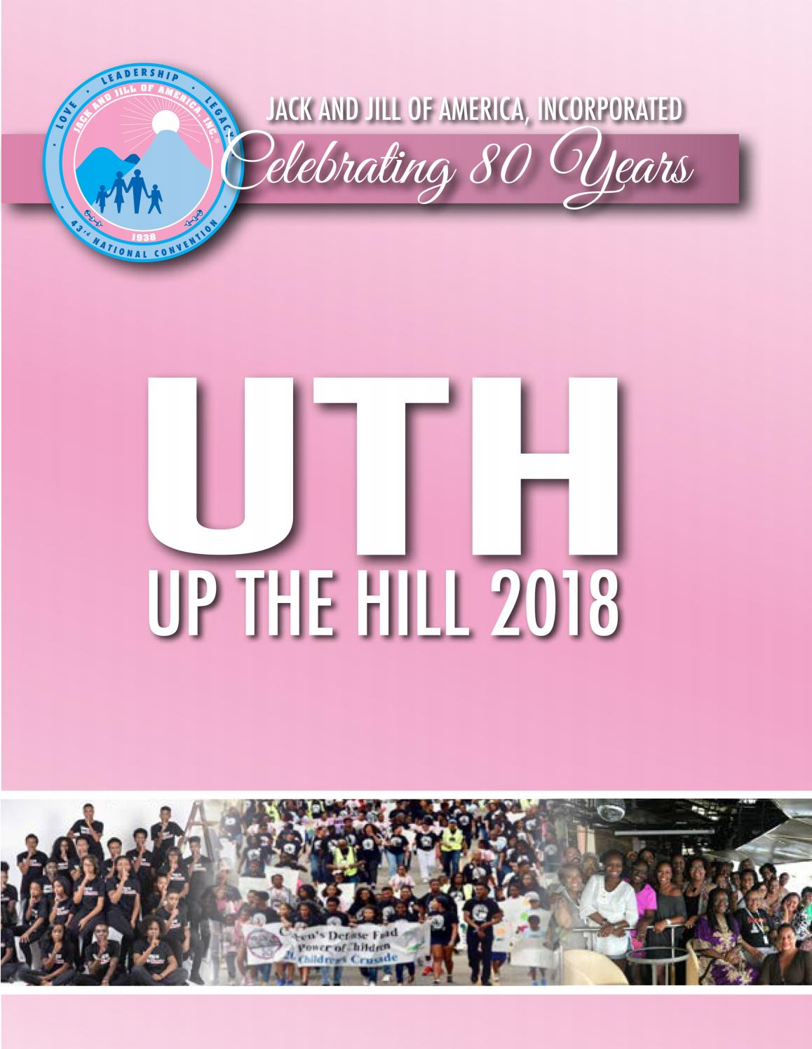 2018 Up The Hill by Jack and Jill of America ec7e43d6bf