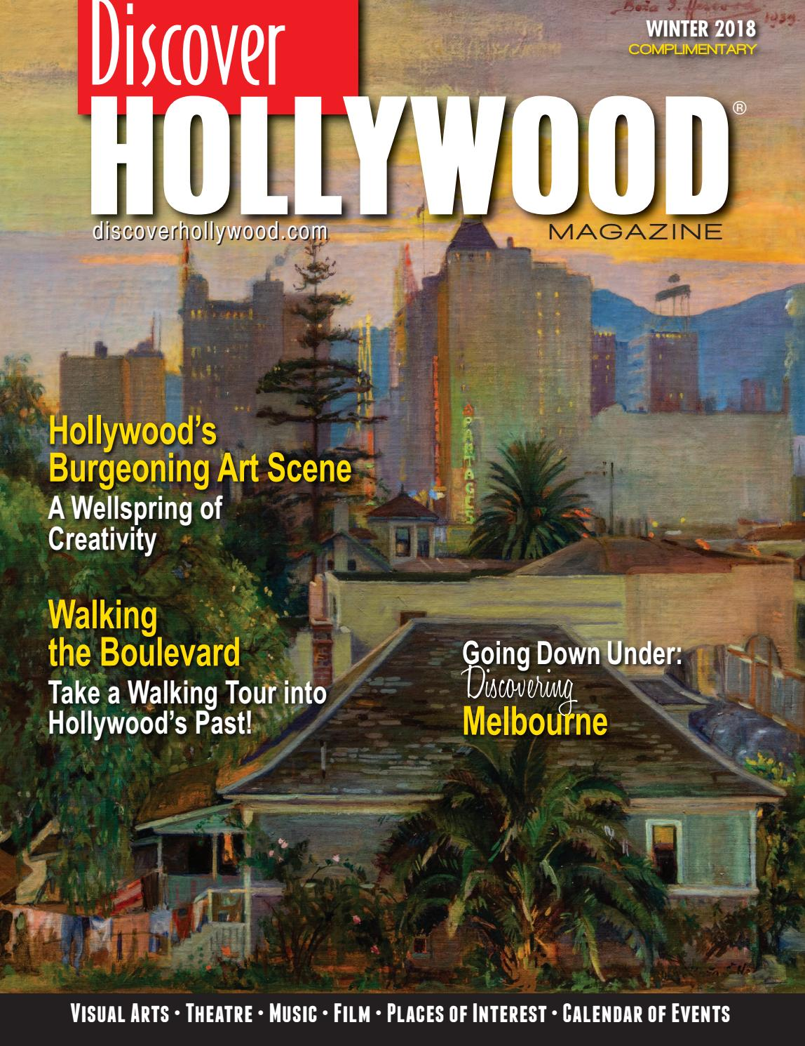 Discover Hollywood Winter 2018 by Discover Hollywood