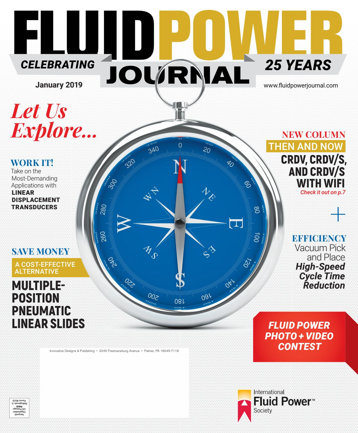 Fluid Power Journal January 2019 by Innovative Designs