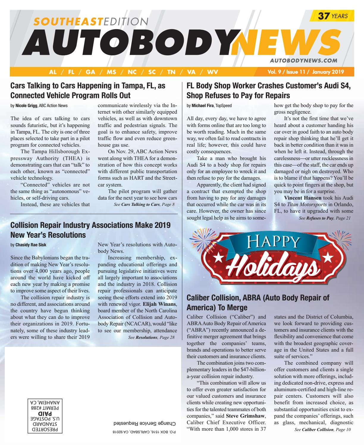 January 2019 Southeast Edition By Autobody News Issuu Techie Clipboard Recycled Circuit Board Debbyaremdesigns