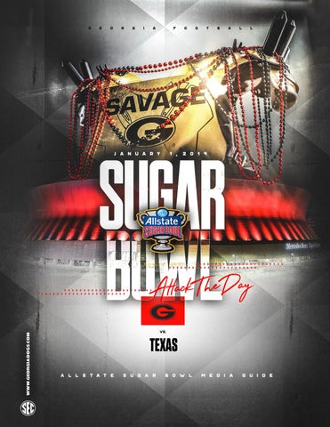 2018 Georgia Football Sugar Bowl Media Guide by Georgia Bulldogs ... ec0c75398