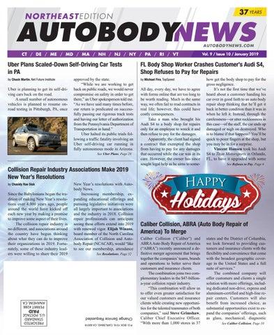 January 2019 Northeast Edition by Autobody News - issuu