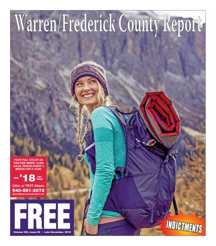 3bb716dd9b9 Late December 2018 Warren Frederick County Report by Warren ...