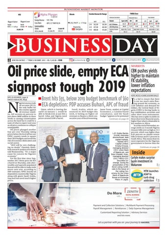 BusinessDay 21 Dec 2018 by BusinessDay - issuu