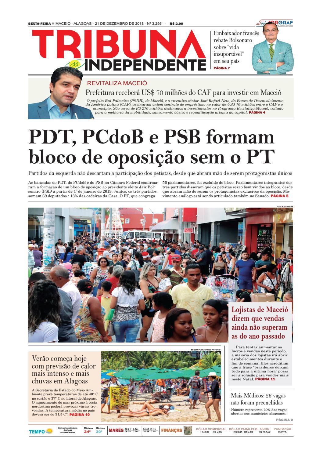 Edição número 3295 - 21 de dezembro de 2018 by Tribuna Hoje - issuu fce7475fb84a2