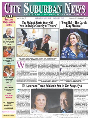 City Suburban News 12 19 18 issue by City Suburban News - issuu b2ee285c4