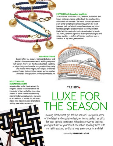 Page 18 of LUXE for the Season