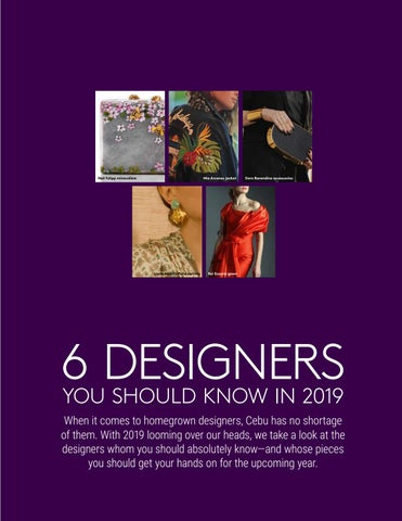 Page 23 of 6 Designers You Should Know in 2019