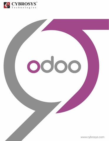 A Beginners guide to Odoo (Cybrosys Technologies) by
