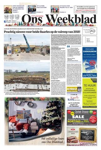 45f7730ca079a3 Ons Weekblad 15-03-2019 by Uitgeverij Em de Jong - issuu