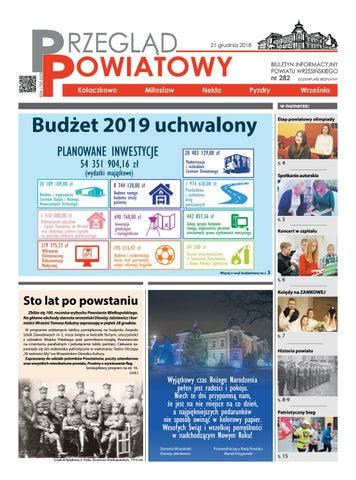 Przegląd Powiatowy Nr 282 Grudzień 2018 By Starostwo