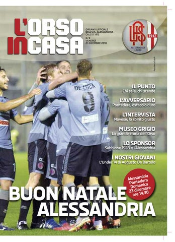 c4afc9329 L'Orso in casa n.9 2018/19 by Alessandria Calcio - issuu