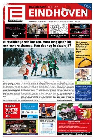 Psv Kersttrui Kopen.Thuis In Eindhoven Editie December 2018 By Thuis In Woensel