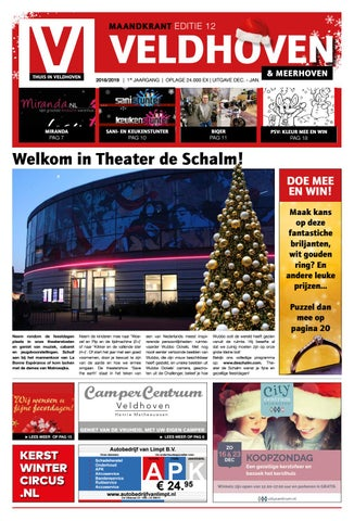 Thuis In Veldhoven Editie December 2018 By Thuis In Woensel