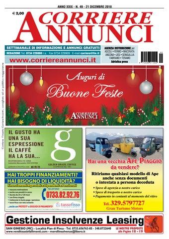 Corriere 49 2018 By Corriere Annunci Issuu
