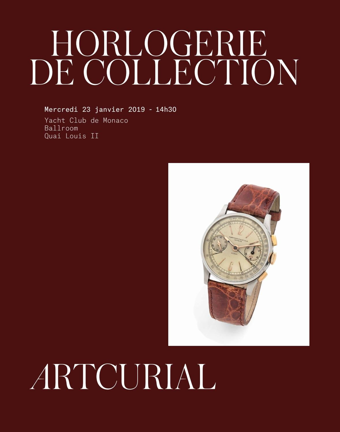 Collection By Horlogerie Artcurial De Issuu BoxWrCed