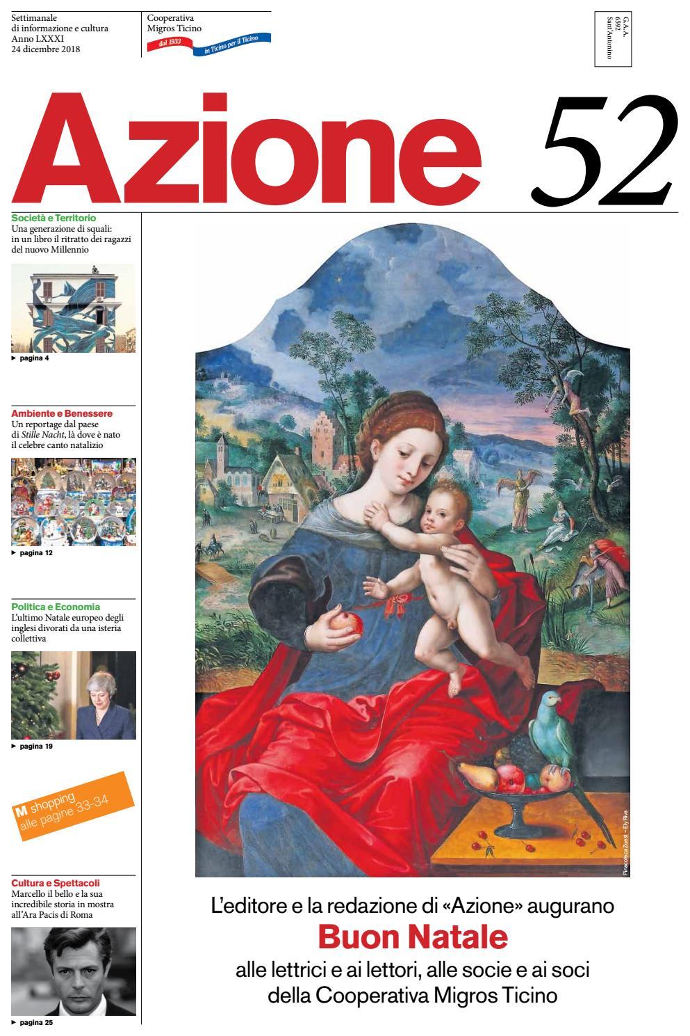Azione 52 del 24 dicembre 2018 by Azione 0ea2c4cfb81