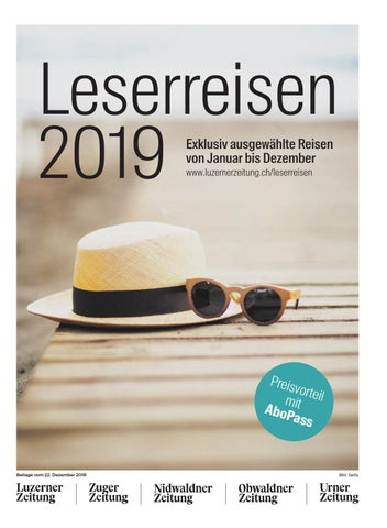 leserreisen 2018 by luzerner zeitung issuu  cover of \