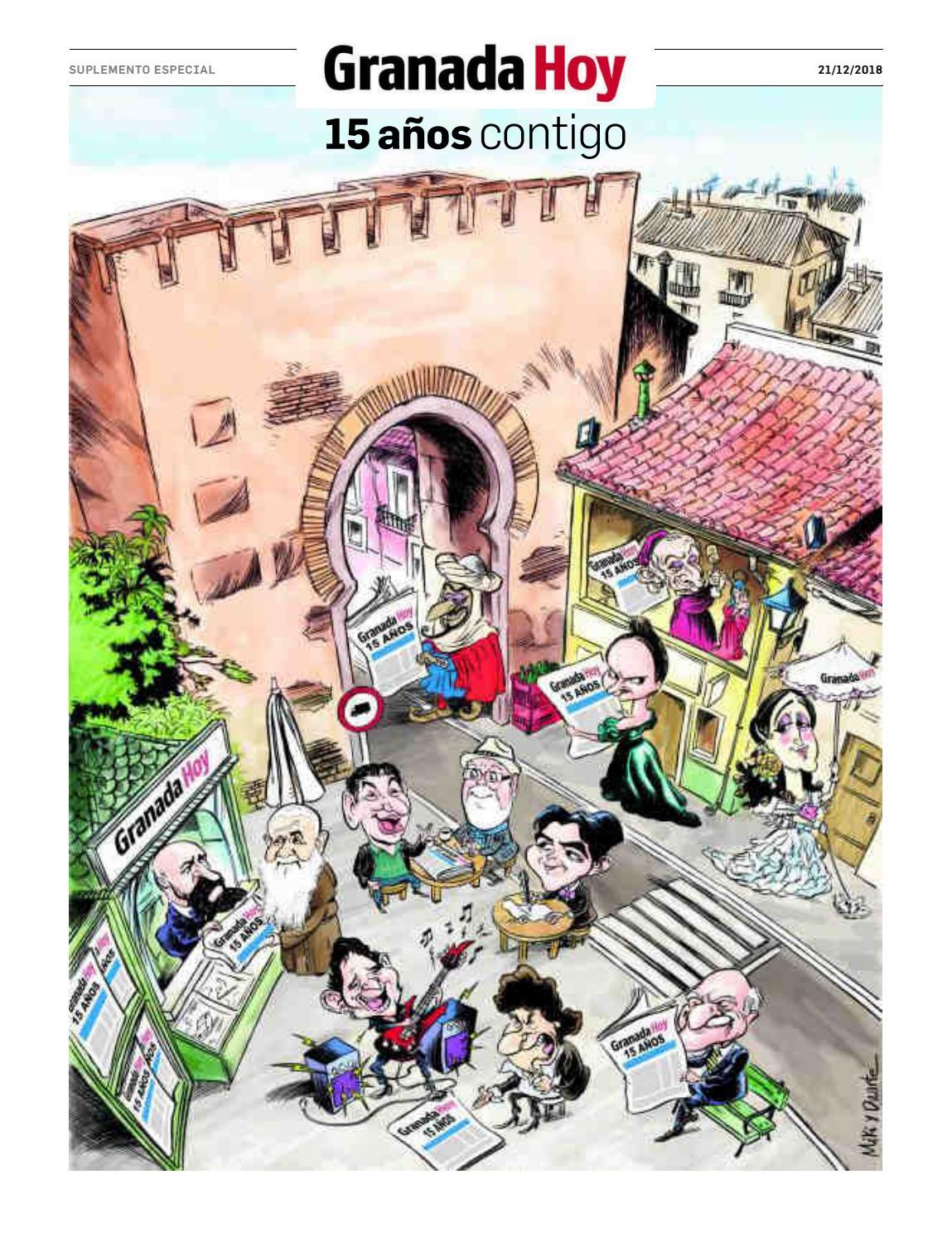 a79b8bbb674 Especial 15 Aniversario Granada Hoy by Joly Digital - issuu