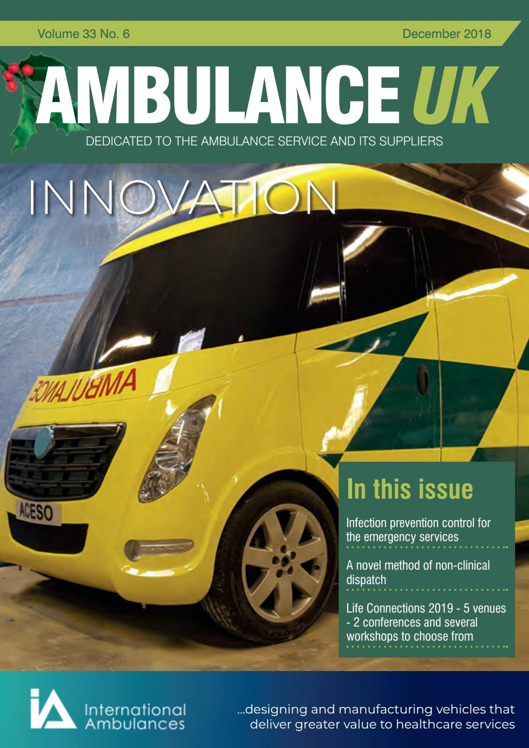 Ambulance UK December 2018 By Media Publishing Pany Issuu