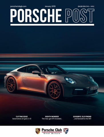 Porsche Post January 2019 By Porsche Club Great Britain Issuu