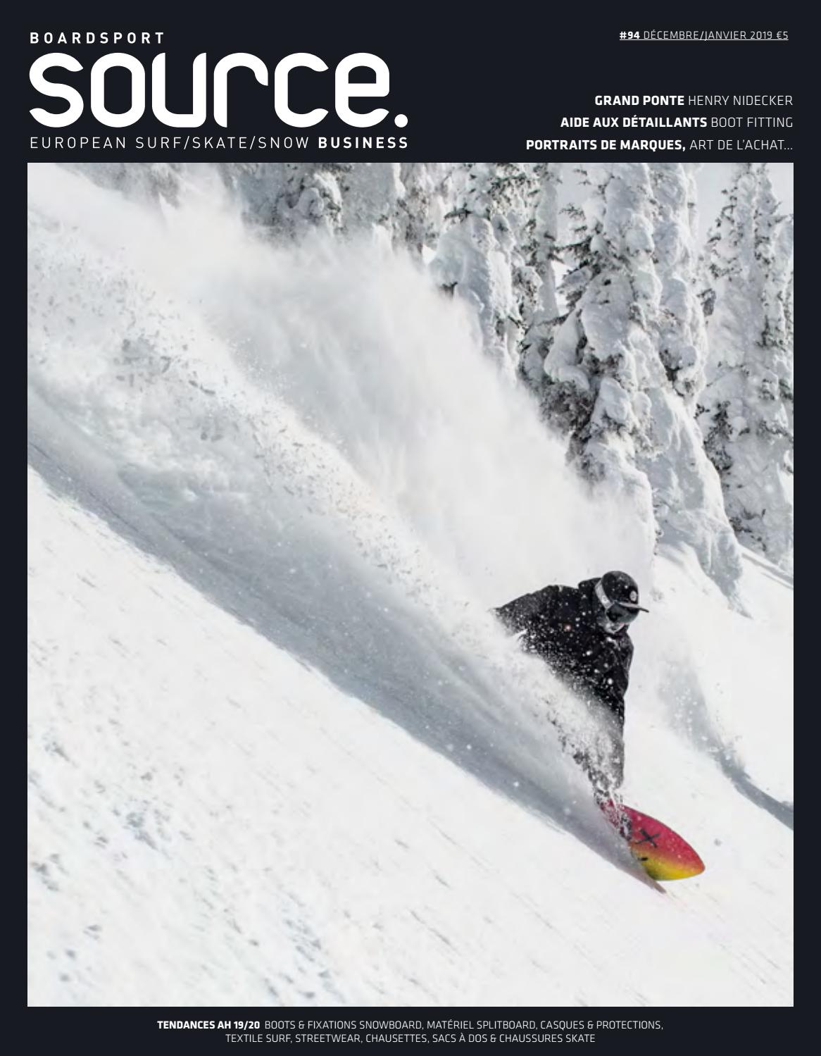 BoardSport Source, Issue 94, December January 2019 French