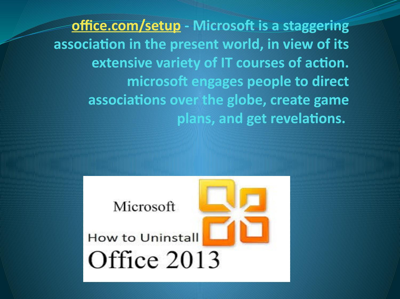 office com/setup | Install office setup and enter product