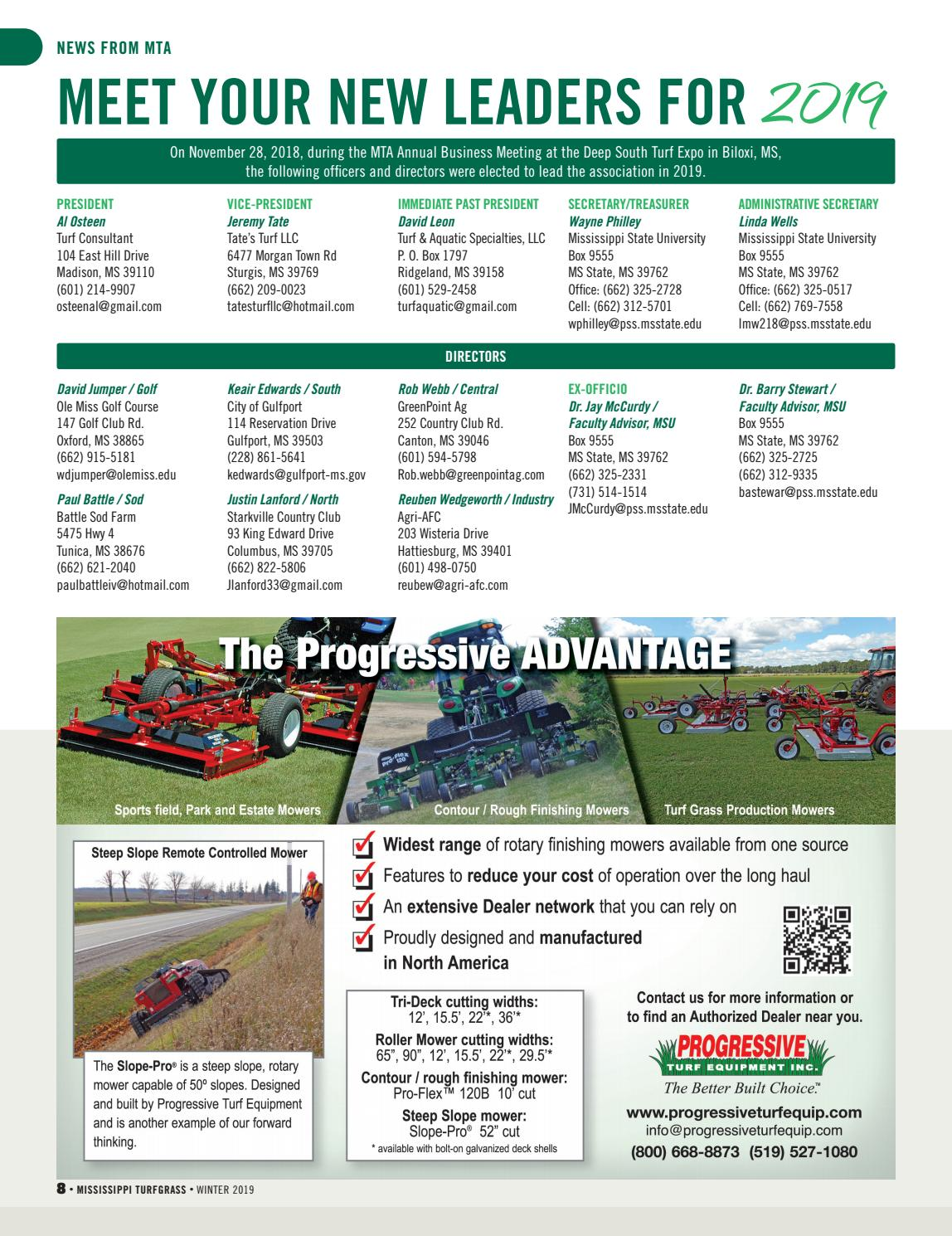 mississippi turfgrass winter 2019 by leadingedgepubs issuu mississippi turfgrass winter 2019 by