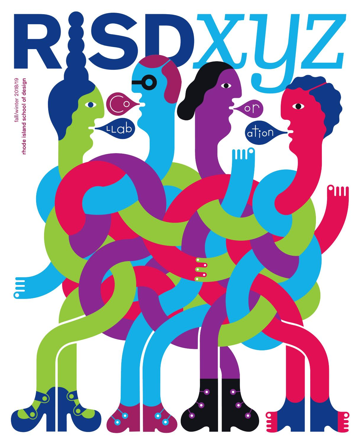 13c316c3e4 RISD XYZ Fall/Winter 2018/19 by Rhode Island School of Design - issuu
