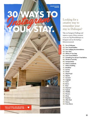 Page 21 of 30 Ways to Instagram Your Stay in Dubuque, Iowa