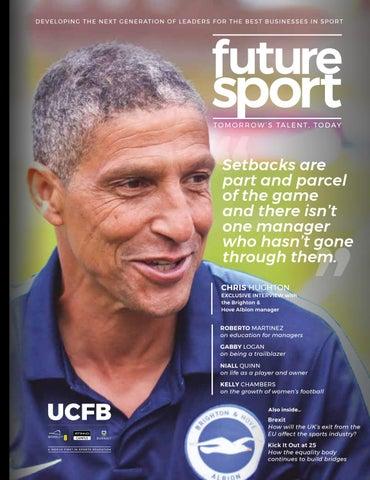 UCFB Future Sport Magazine 2019