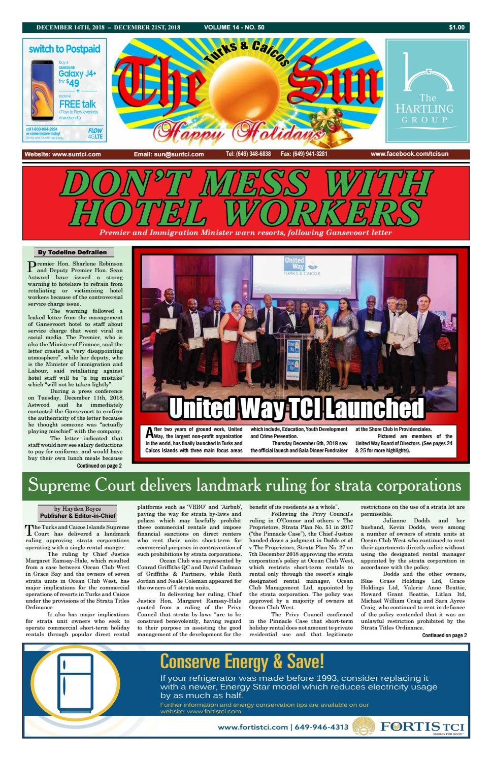 VOLUME 14 ISSUE 50 by The SUN Newspaper - issuu