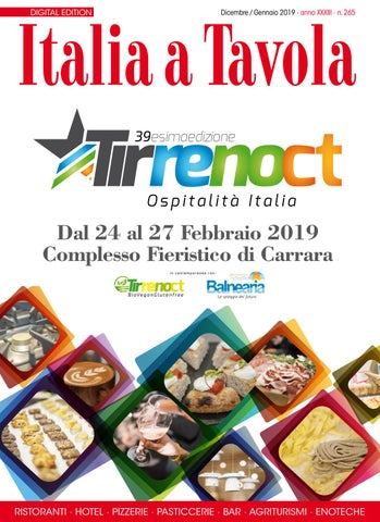 Italia a Tavola 265 Dicembre Gennaio 2019 by Italia a Tavola - issuu c1827d5f3c24