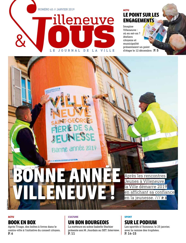 Villeneuve Et Vous N 65 Janvier 2019 By Ville De Villeneuve