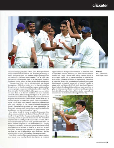 a1b8b6491a5 The Cricketer Schools Guide 2019 by The Cricketer - issuu