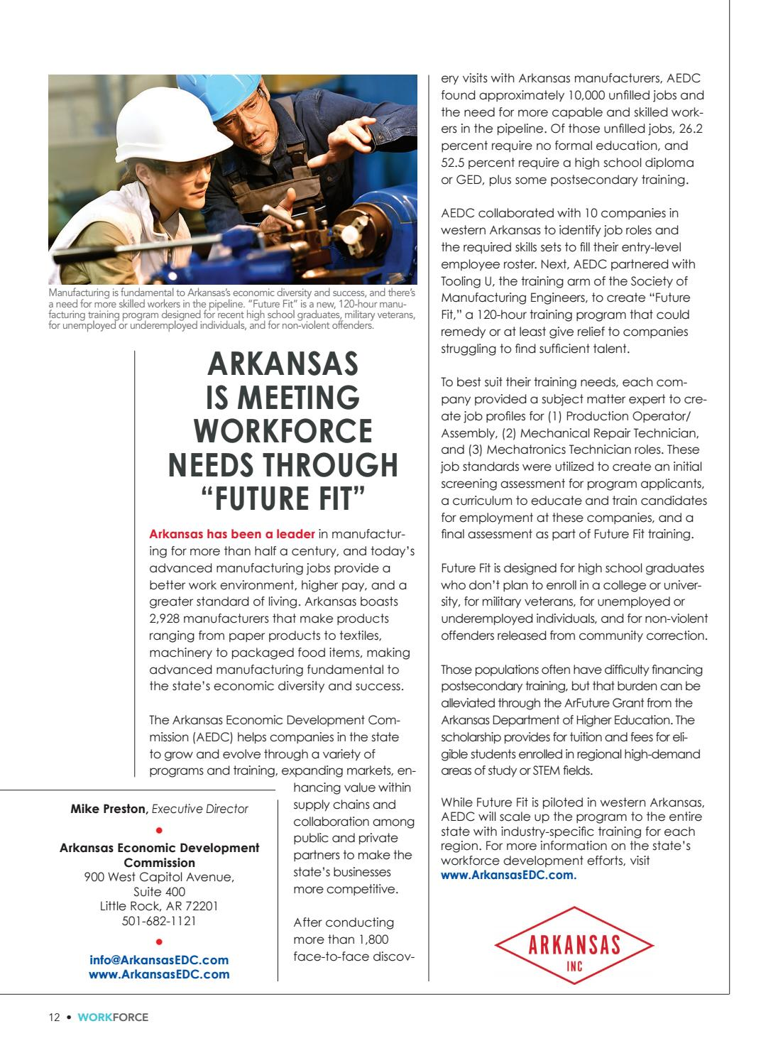 Workforce Supplement to the Q4 2018 Issue of Area