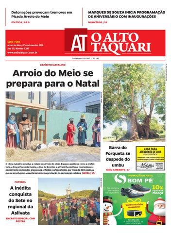 5bab6d53ecd56 Jornal O Alto Taquari - 07 de dezembro de 2018 by Jornal O Alto ...