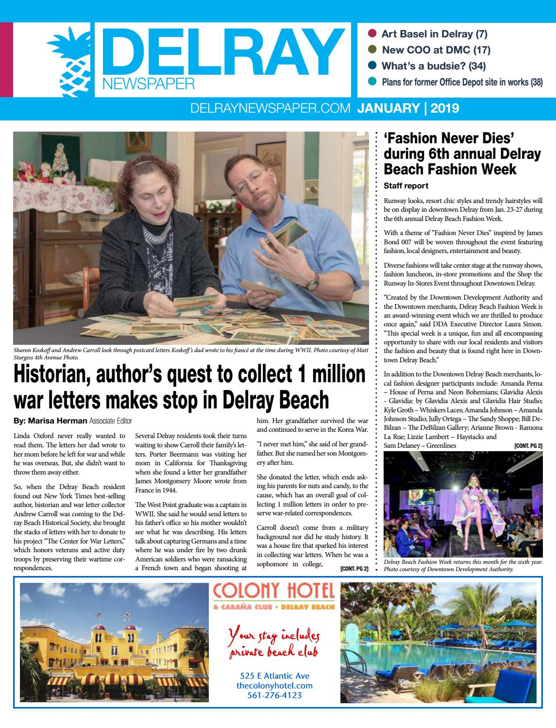 92a27d5fe Delray Newspaper | January 2019 by Four Story Media Group - issuu