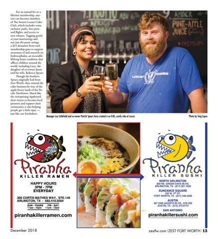 Page 13 of New Frontiers at Locust Cider