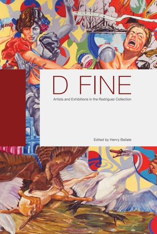 Page 1 of D FINE Artists and Exhibitions in the Rodríguez Collection