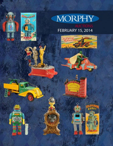 24665eab2 2014 Feb 14 Toys, Banks, Space, & Robots by Morphy Auctions - issuu