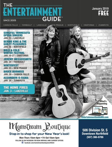 January 2019 Entertainment Guide by The Entertainment Guide - issuu