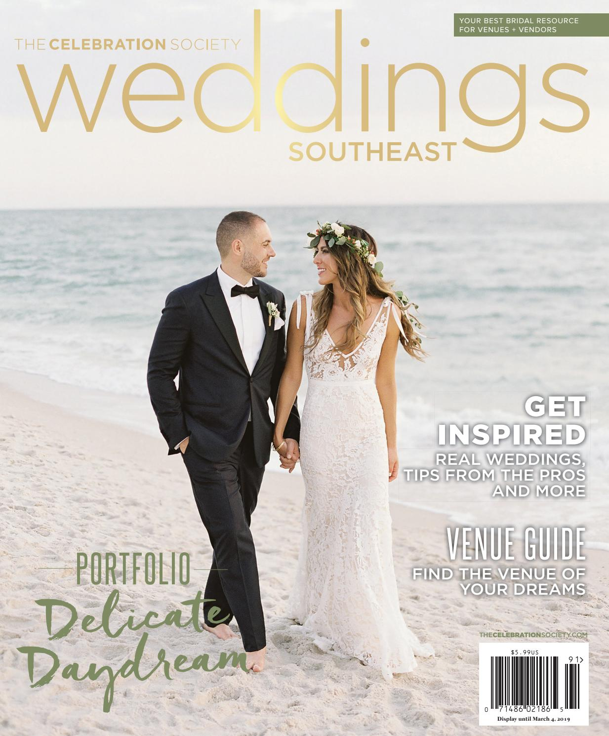 009152912 The Celebration Society - Weddings Southeast - Winter Spring 2019 by The  Celebration Society - issuu