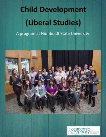 Child Development Liberal Studies By Humboldt State