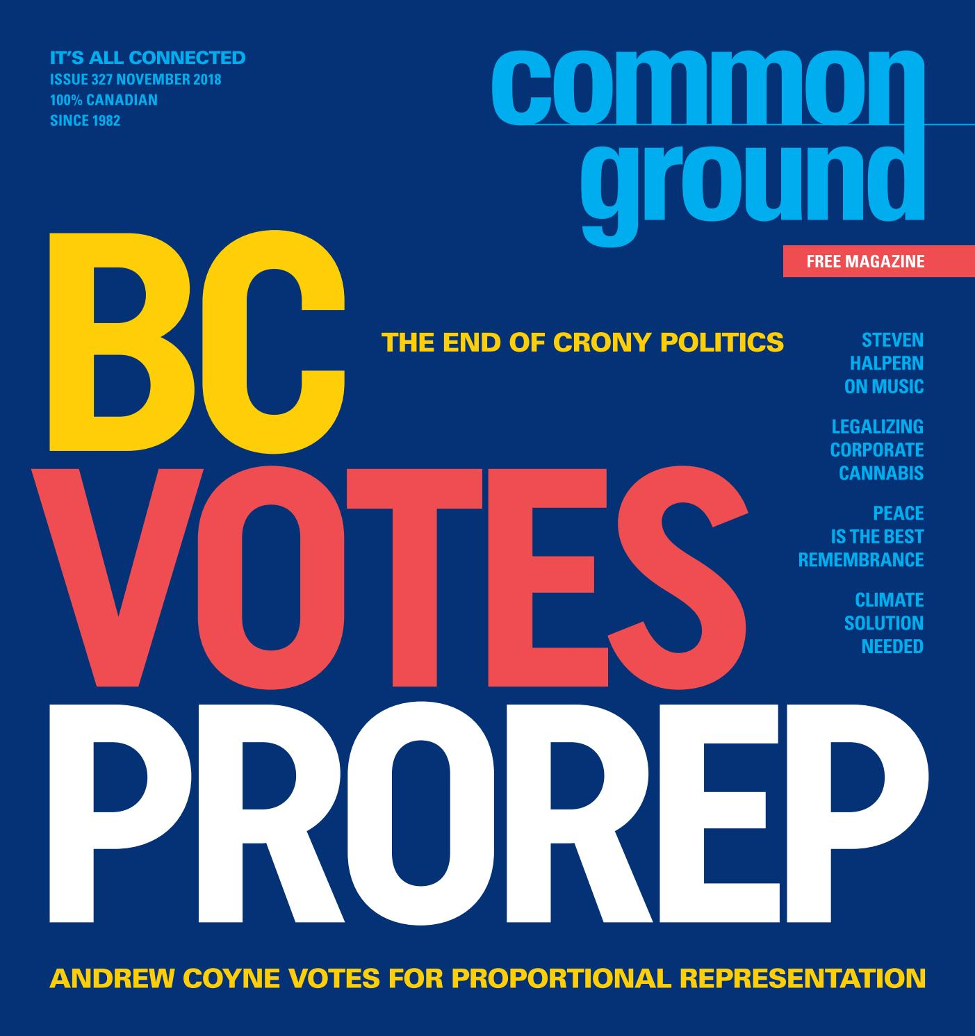 Common Ground November 2018 by Common Ground Magazine Canada