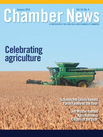 January 2019 Chamber News by Sioux Falls Area Chamber of